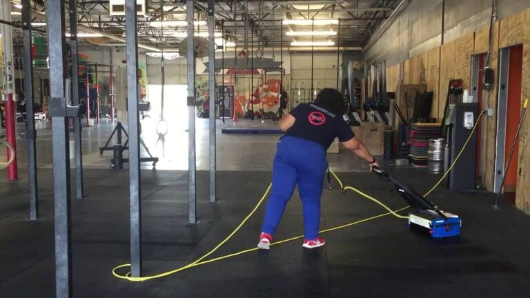 How To Deep Clean A Rubber Floor