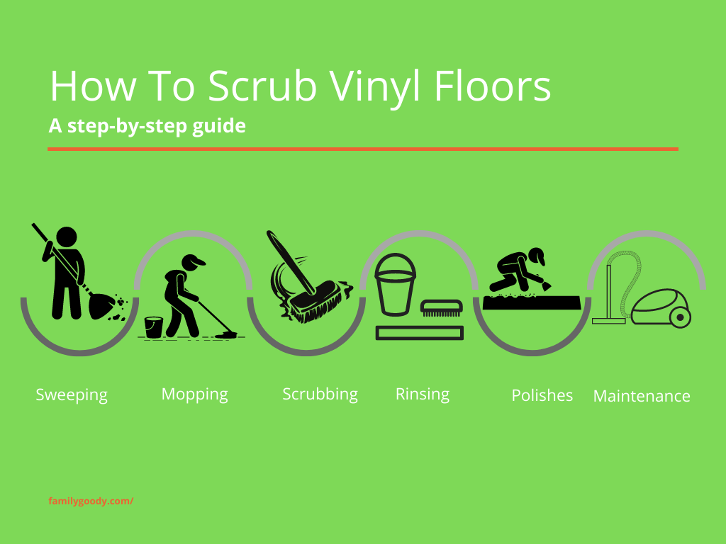 How To Scrub Vinyl Floors A Step By Step Guide